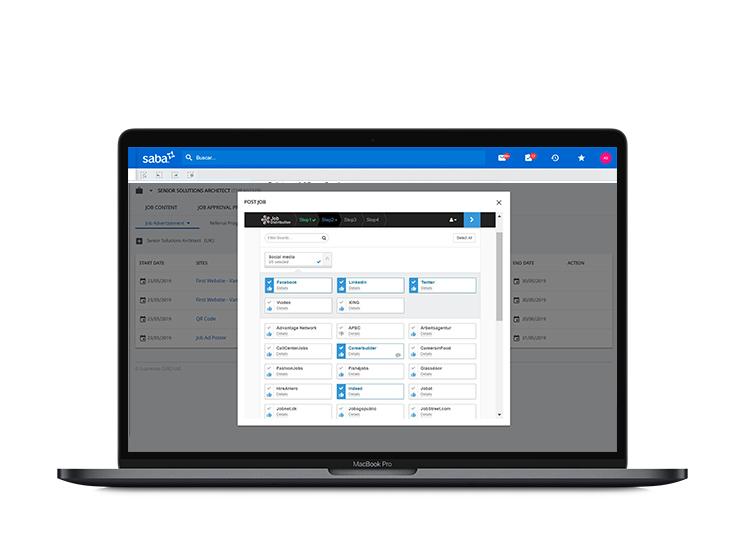 Sistema para la selección de personal en redes sociales.
