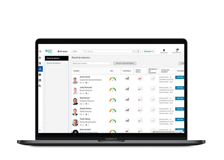 El software ayuda a realizar unas evaluaciones continuas y ha realizar el seguimiento de las mismas.