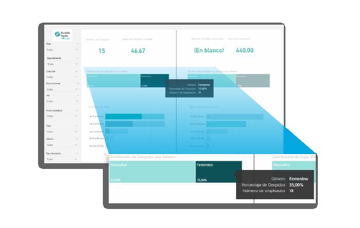 Los análisis a medida con una cuidad interfaz permite aportar una experiencia de usuario inmejorable.