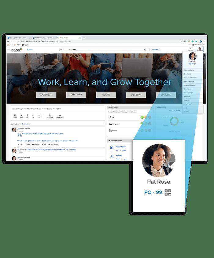 El sistema es capaz de identificar a los empleados más influyentes gracias a las interacciones que se realizan en la herramienta.