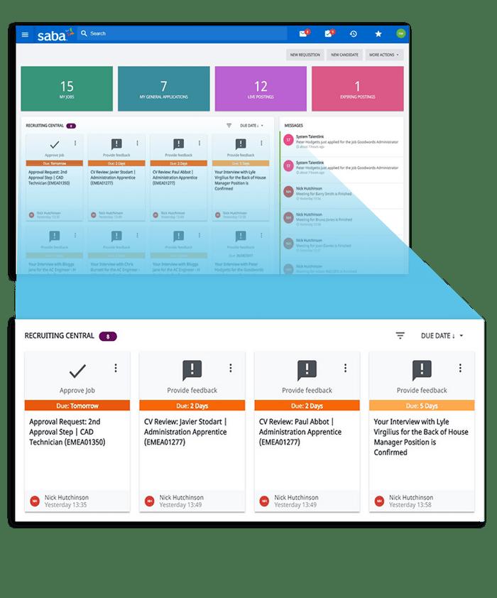 El reclutador puede hacer un seguimiento de los procesos de los diferentes clientes.